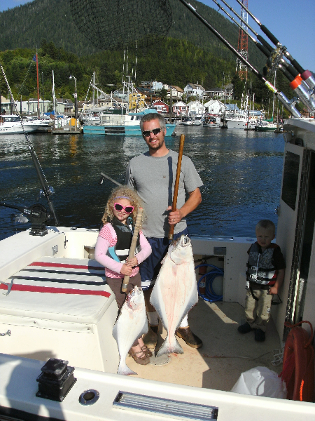 Family Halibut Fun