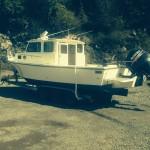 Ketchikan Halibut Fishing boat